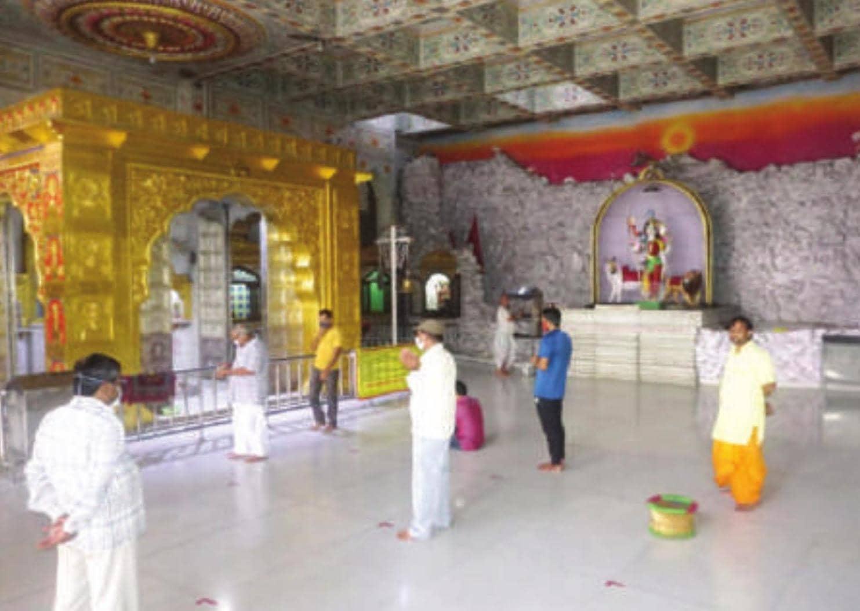 राजस्थान में धार्मिक स्थल खुले