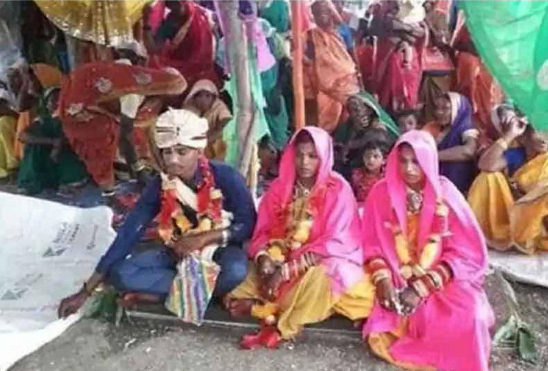 ஒரே நேரத்தில் 2 பெண்களைத் திருமணம் செய்துக்கொண்ட இளைஞர் கைது