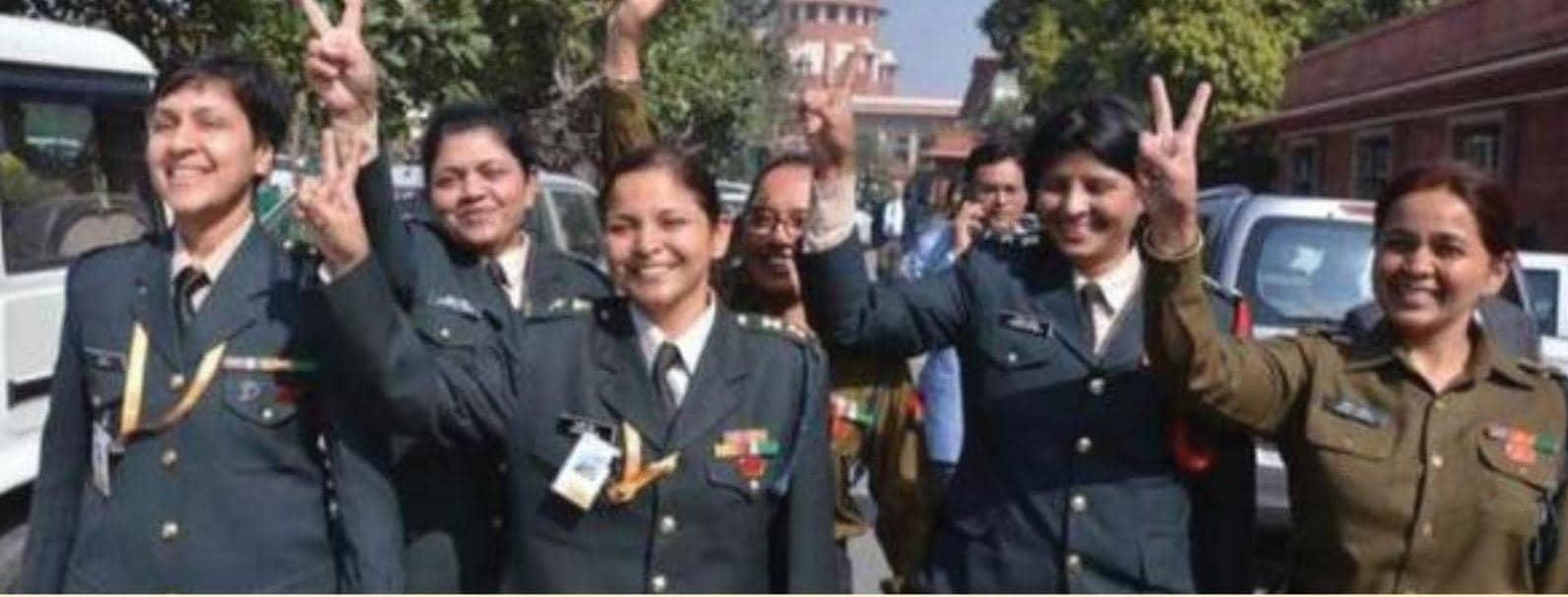 இராணுவத்தில் பெண் அதிகாரிகளுக்கு நிரந்தர ஆணையம்